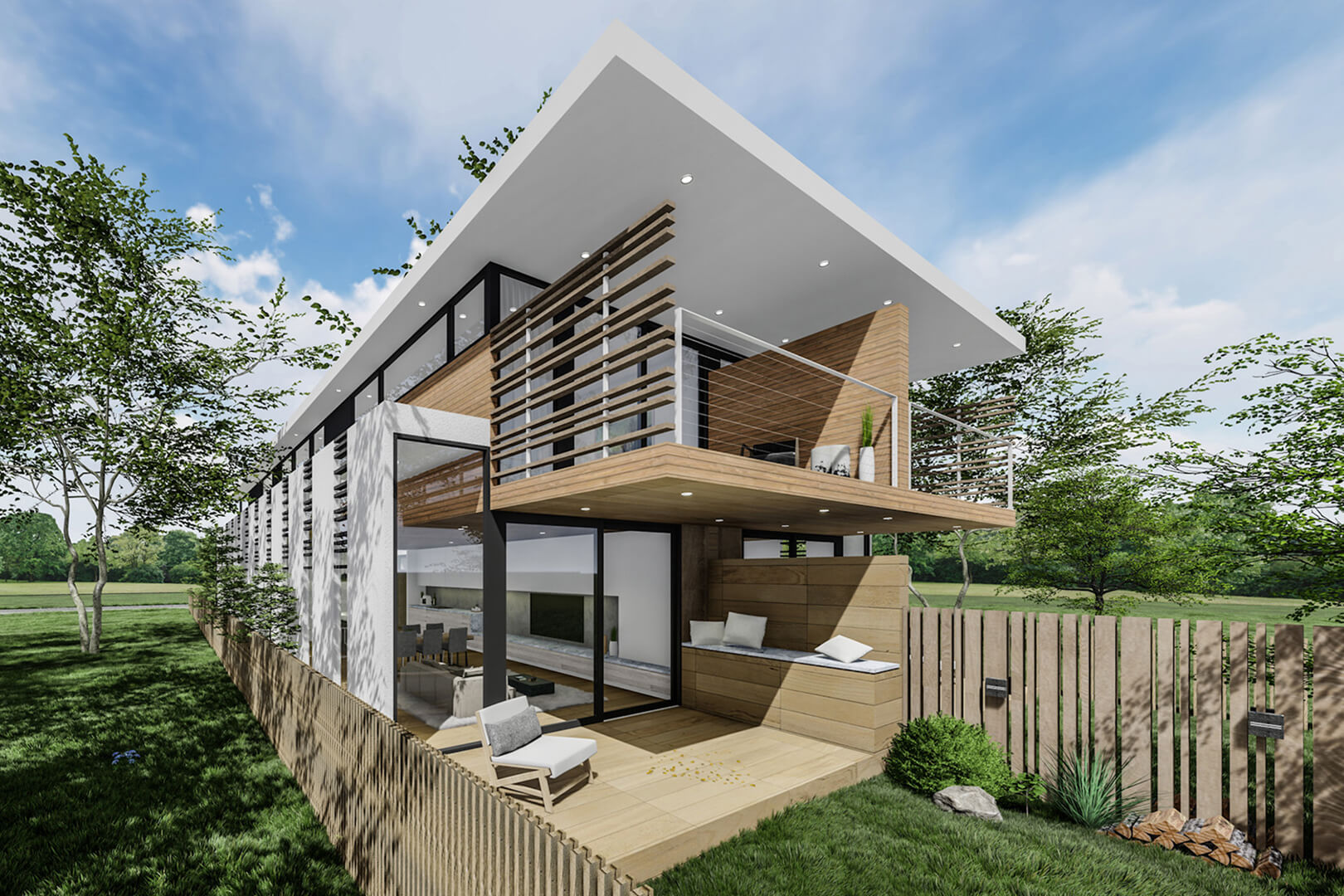 Footscray Modern Townhouses - designed by Sky Architect Studio