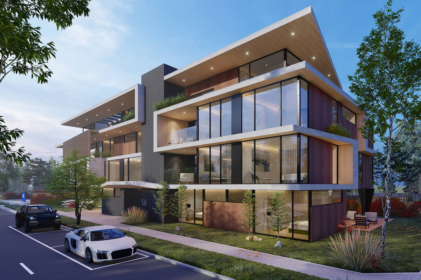 Specialist Disability Accommodation SDA design in Melbourne - Design by Sky Architect Studio. Modern Luxury Apartment design