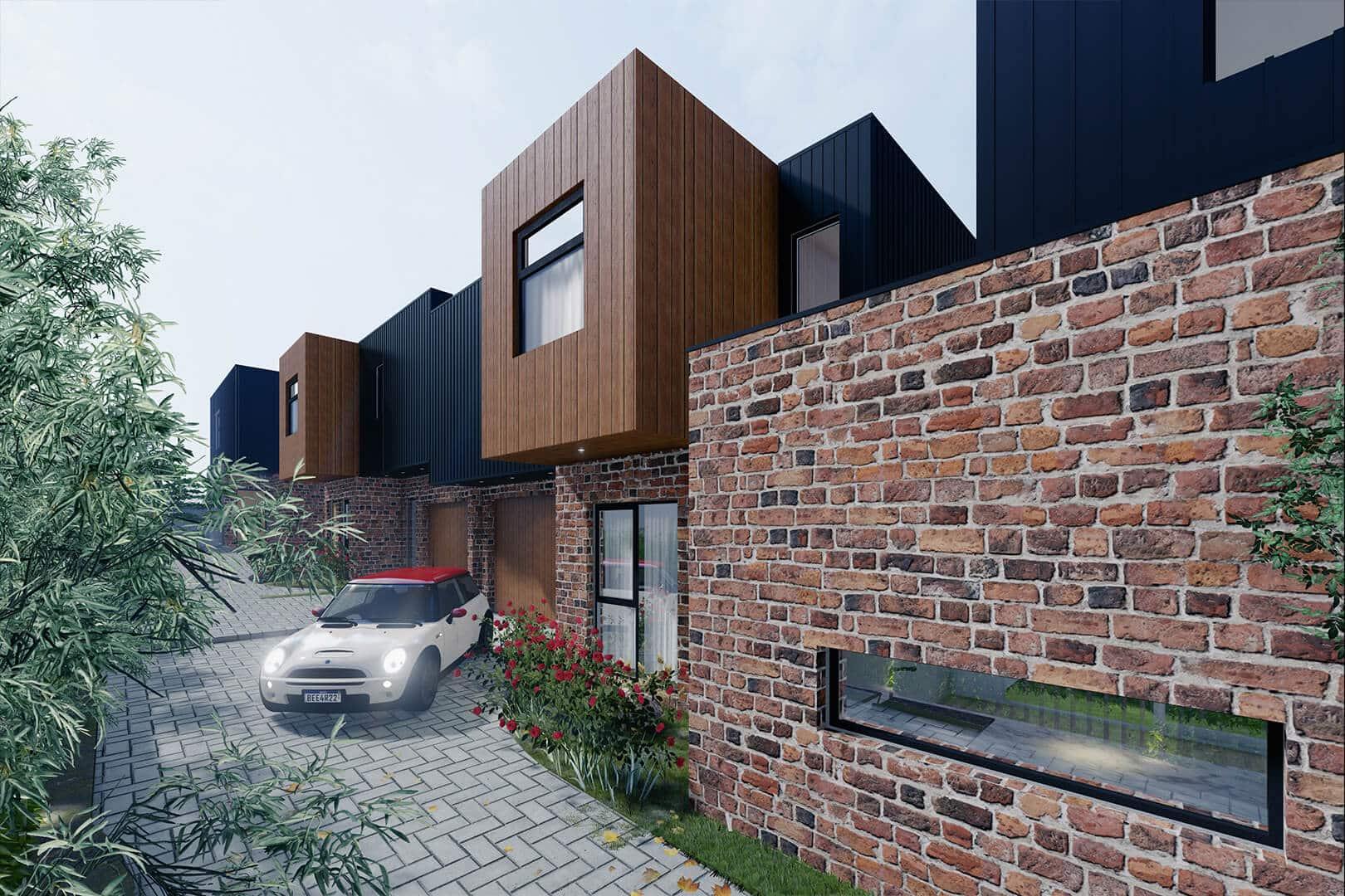 Highett Townhouses by Sky Architect Studio