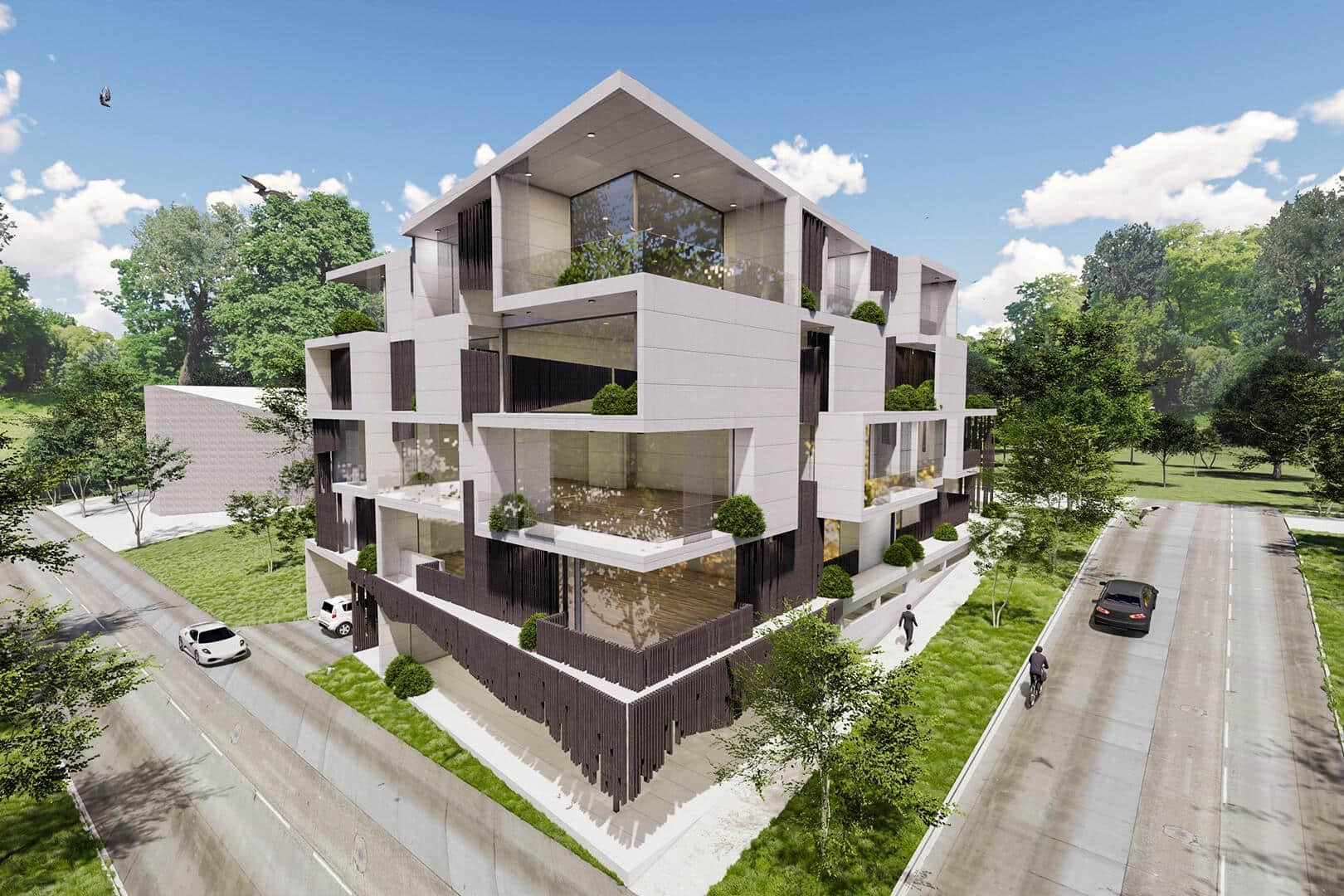 Ivanhoe Apartment - Melbourne Apartment designed by Sky Architect Studio