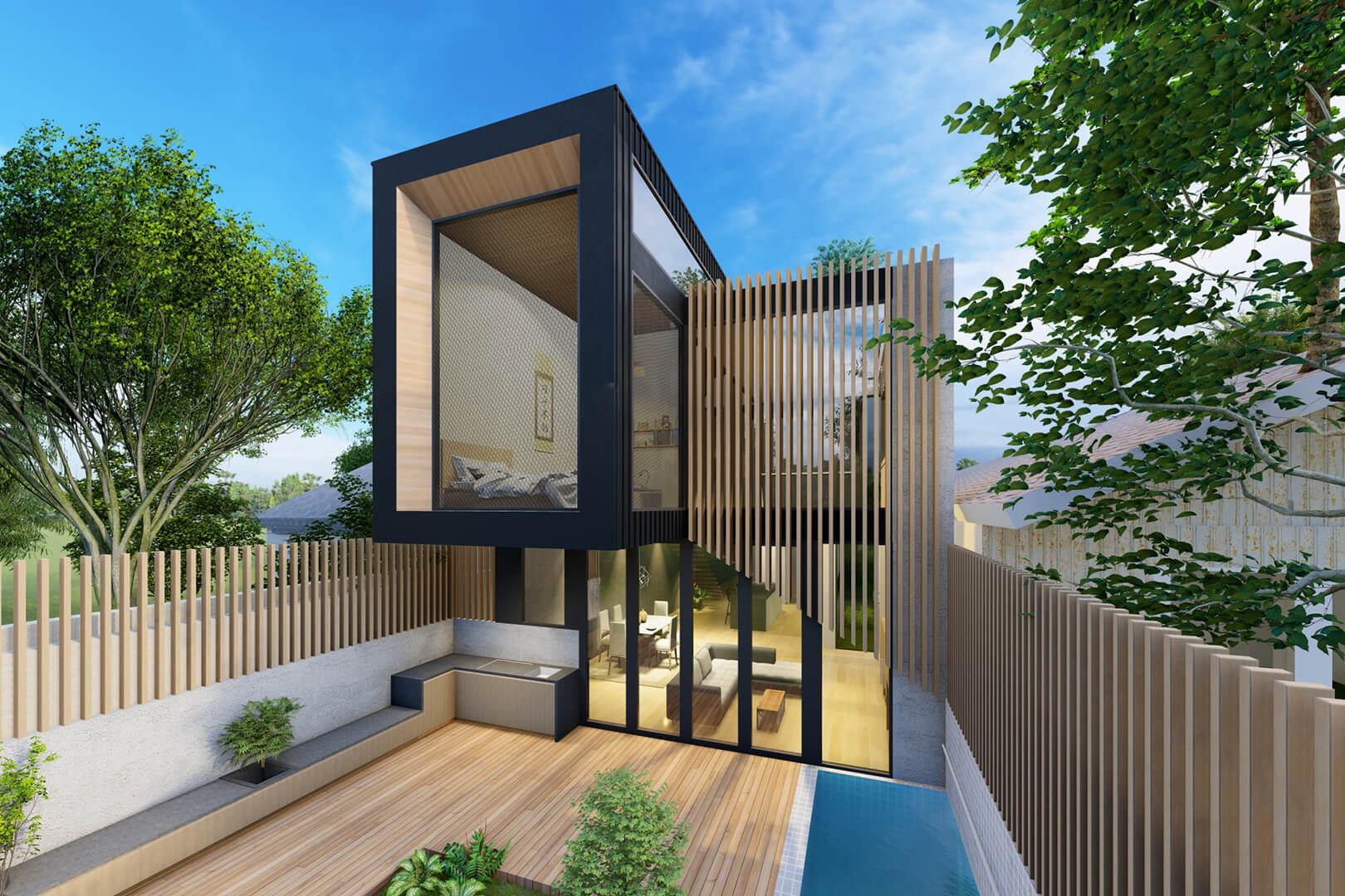 Northcote House - Modern Architecture in Melbourne designed by Sky Architect Studio