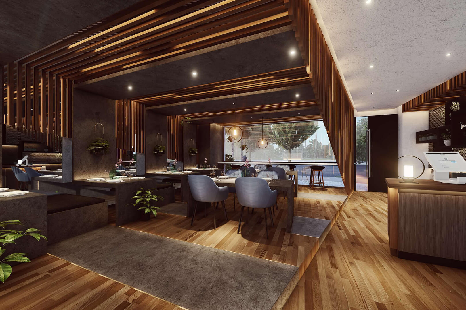 Pakington Cafe designed by Sky Architect Studio
