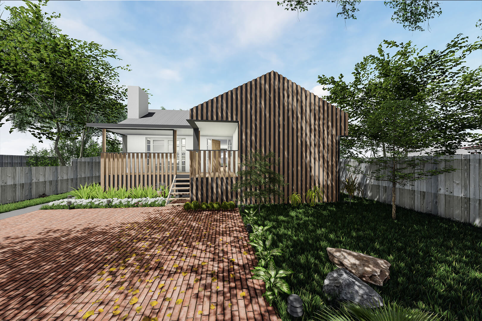 Railway Parade House - Architecture design in Chadstone by Sky Architect Studio