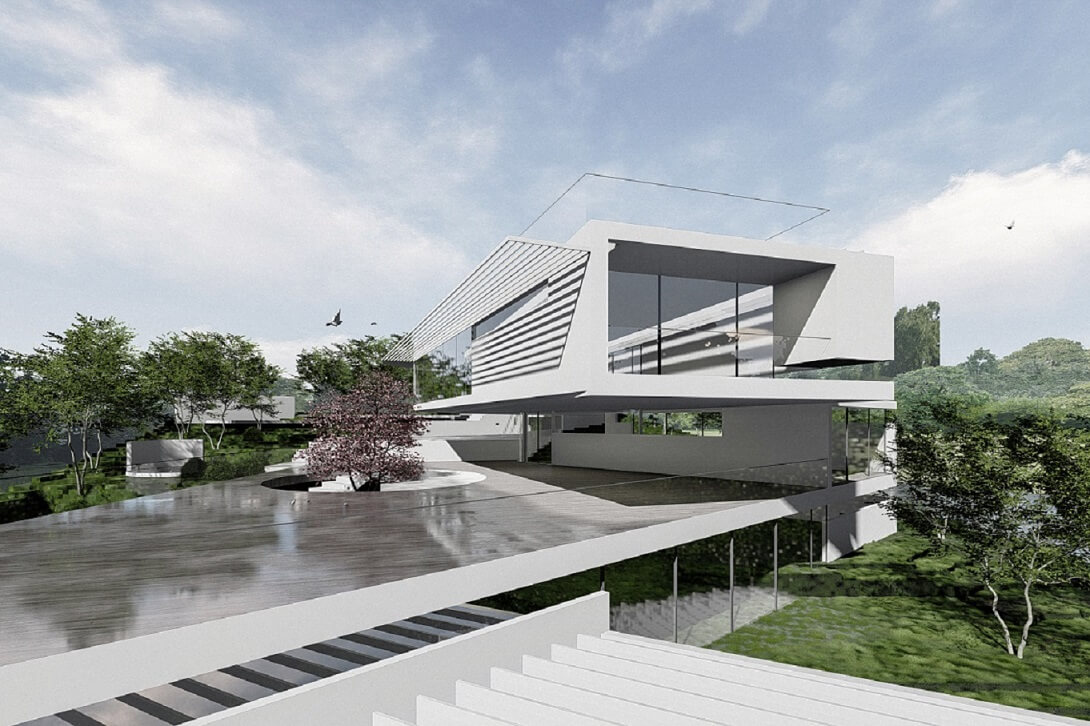 Templestowe Iconic Architecture House - Designed by Sky Architect Studio